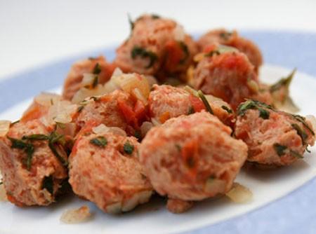 Carne de Soja Refogada | Mariana Lapetina.