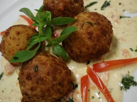 Malai Kofta (Bolinho de queijo Indiano)