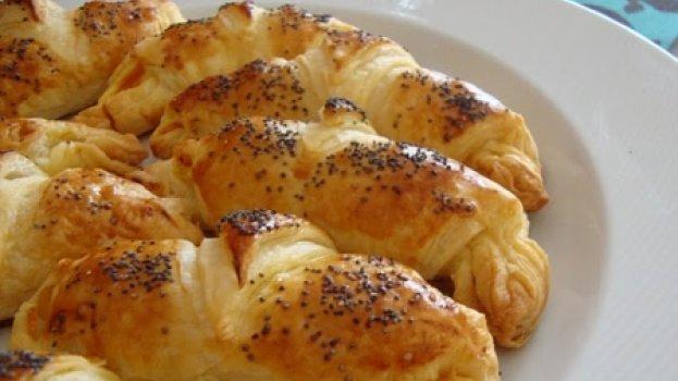 Croissants de Legumes e Queijo