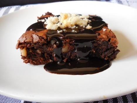 Brownie de chocolate e castanha-do-pará