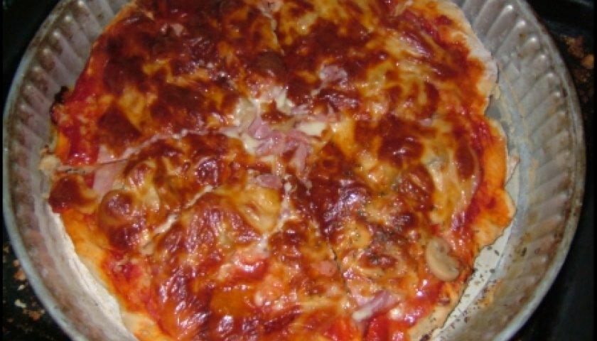 Massa Básica para Pizza Light