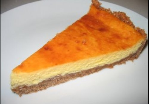 Cheesecake de chocolate branco