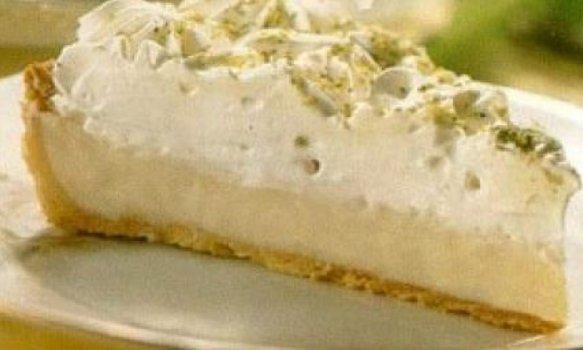 Torta de Limão (massa sem biscoito)