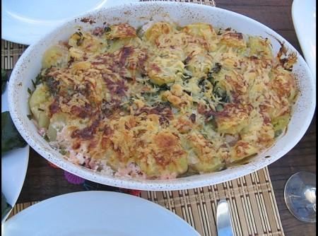 Batata Gratinada com Vegetais | Silvana Lopes