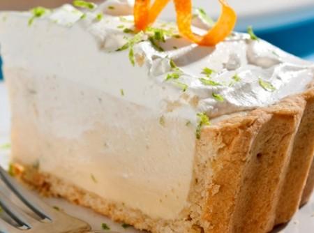 Torta Cítrica de Laranja e Limão