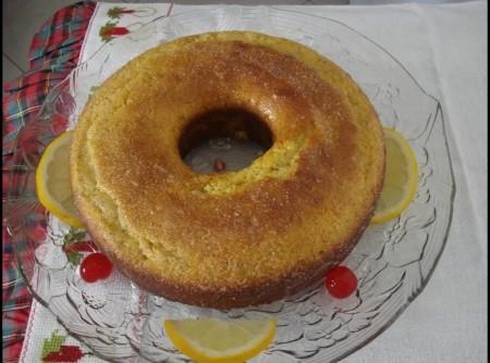 Bolo de limão Siciliano com semente de papoula(uma delicia)   braulio randt
