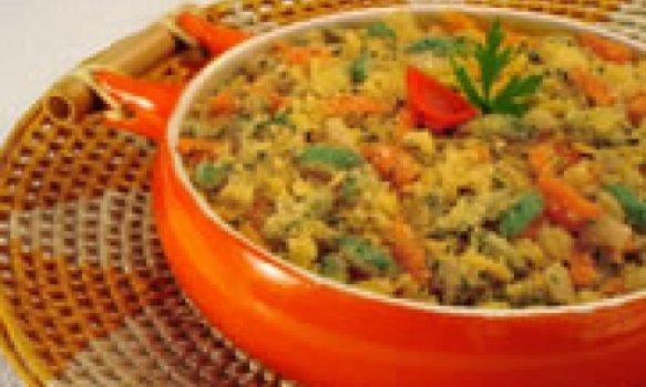 Farofa de legumes