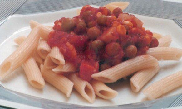 Macarrão com Seleta de Legumes