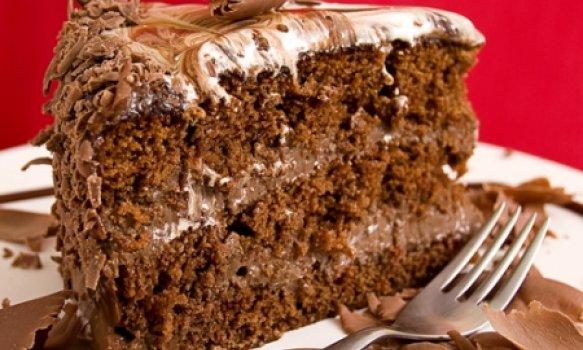 Bolo Mesclado com Chocolate Meio Amargo