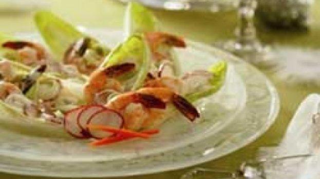 Salada de Camarões