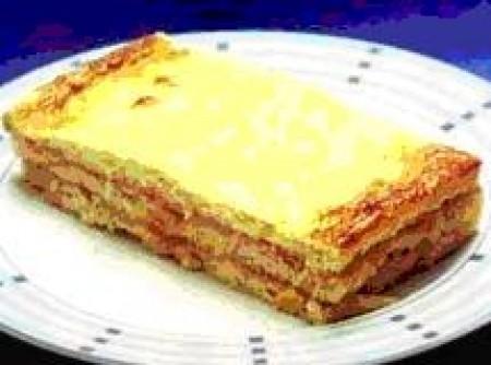 Sanduíche de Forno de Presunto e Queijo