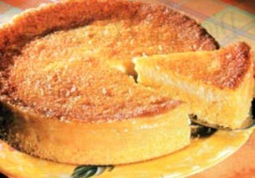 Cheese cake do sítio