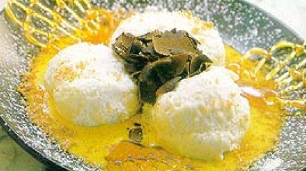 Mousse Branca com Creme
