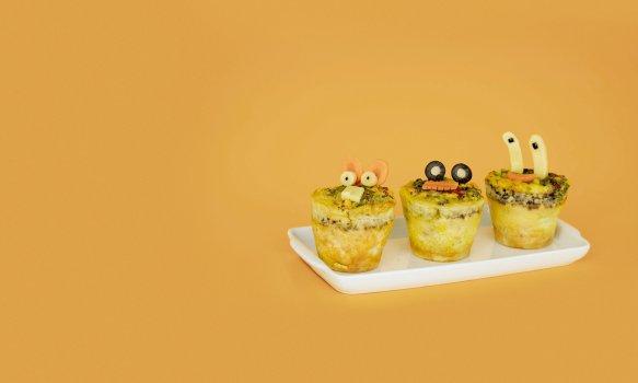 Muffin Omelete