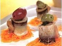 rolinhos de sardinha no vapor