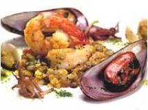 Salada de Lentilha com Frutos do Mar
