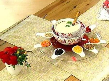 sopa doce de coco