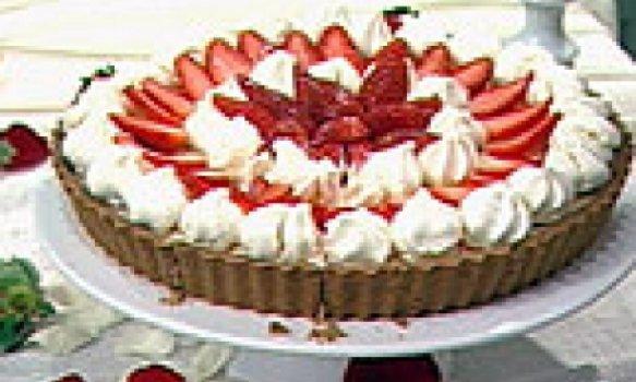 Torta Trufada de Morangos