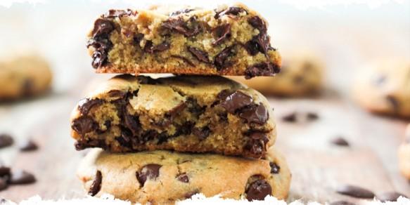 Cookies Macios de Chocolate