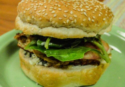 Hambúrguer de Soja Nota 10