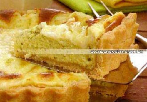 Torta 4 queijos