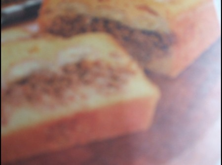 Torta de Fubá Com Carne Moida Banana