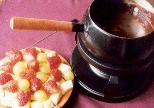Fondue de Chocolate com Cherry