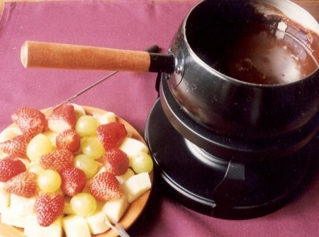 Fondue de Chocolate com Cherry