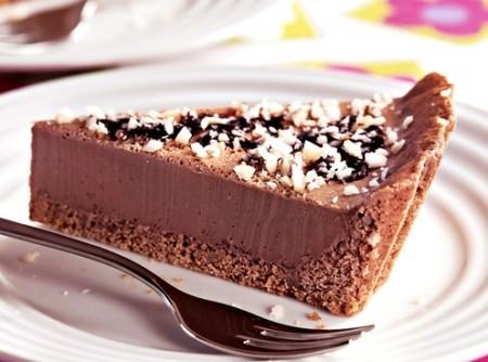 Torta de Chocolate com Castanha-do-Pará