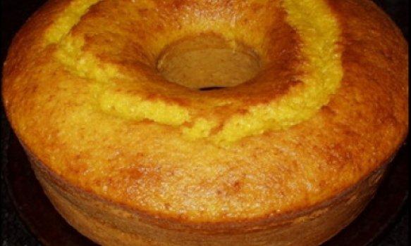 Bolo de polentina (laranja)