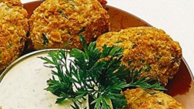 Croquete de frango e cenoura