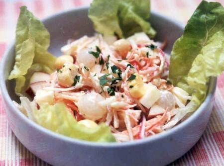 Salada Cremosa | CyberCook