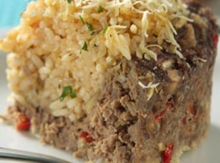 Torta de arroz com carne | CyberCook