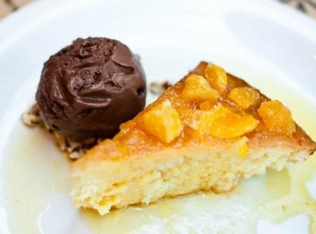 bolo de laranja com cachaça