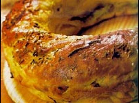 Pão de Cebola Dourado | Ana carolina