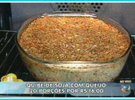 Quibe de Soja com Queijo