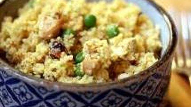 Cuscuz de Frango & Curry