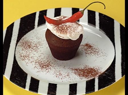 Bolo de chocolate apimentado