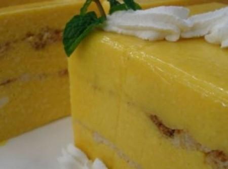 delicia gelada de manga e abacaxi