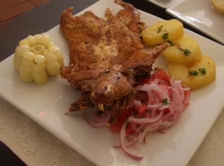 A receita inca de picante e chancho - pernil de porco picante   Ada Heyder