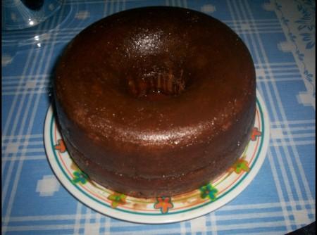 Bolo de Chocolate Saboroso