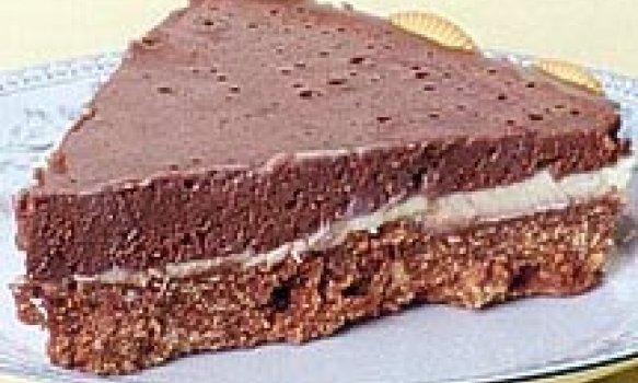 Torta Holandesa com Biscoito Wafer