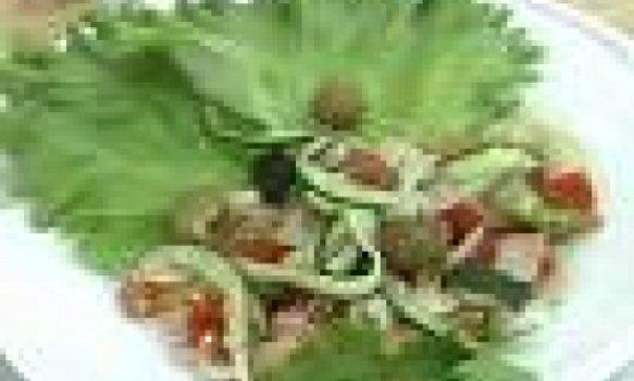 Salada de Bacalhau á moda Haras Marambaia