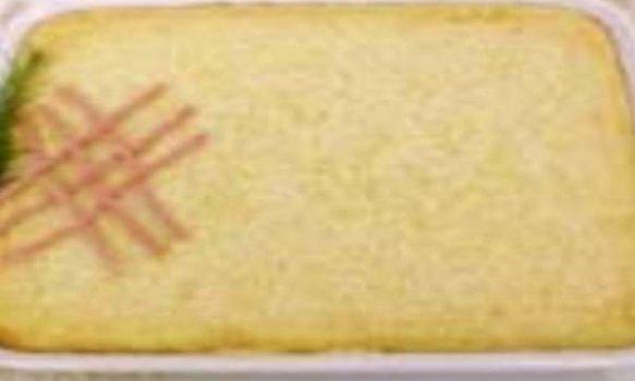 Torta de Batata Doce com Salsicha