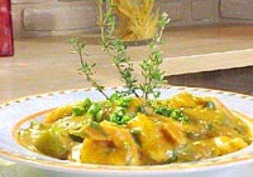 Camarão com quiabo