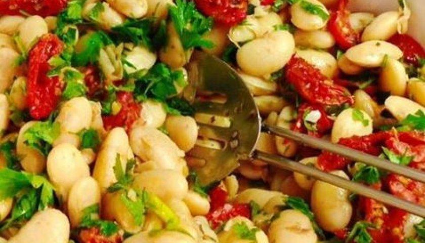 Favas com Tomates Secos