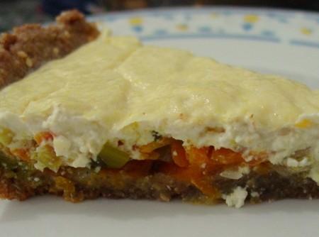 Quiche de cenoura com alho-poró | CLOVIS A.F.MOTHÉ