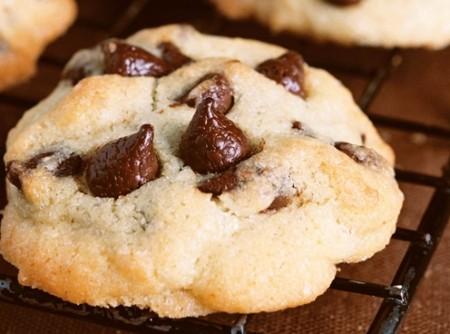Cookies com Gotas de Chocolate Meio Amargo