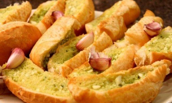 Pão de Alho e Parmesão