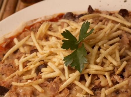Pizza de Atum na Frigideira